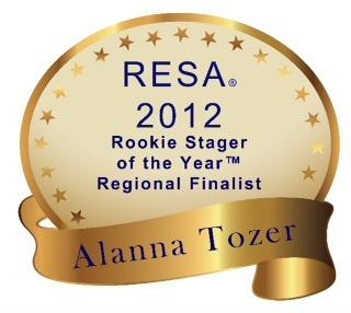 Resa 2012 Staging Awards Finalist In 3 Categories Capital Home Staging Design